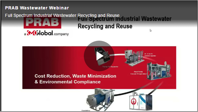 Full Spectrum Industrial Wastewater Recycling and Reuse Webinar